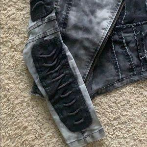 Jackets & Coats - Black moto jacket